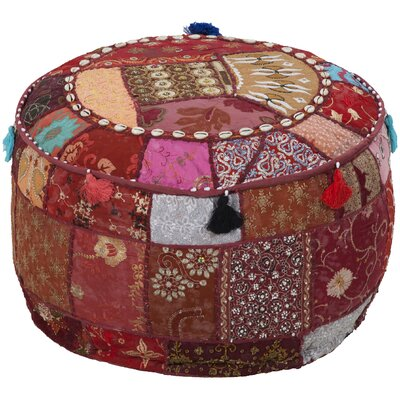 Tactful Tribal Pouf Ottoman
