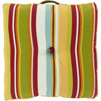 Surya Multi-Dimensional Stripe Pillow Cover - Color: Cherry at Sears.com