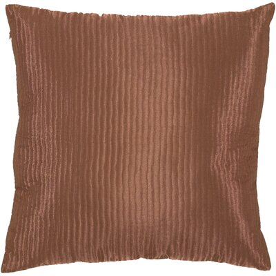 Textured Solid Pillow Size: 22, Filler: Down