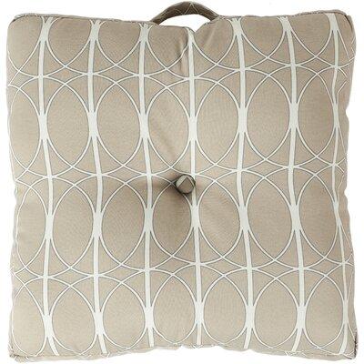 Ballenton Outdoor Pillow Cover Color: Charcoal