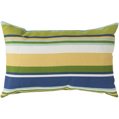 Liara Pillow Cover Color: Lime