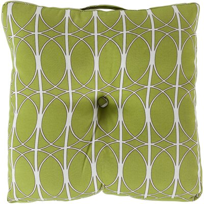Ballenton Outdoor Pillow Cover Color: Lime