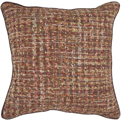 Asner Tweed Throw Pillow Size: 22 x 22, Fill Material: Down