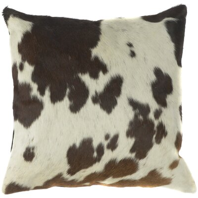 Charming Cow Hide Down Outdoor Throw Pillow