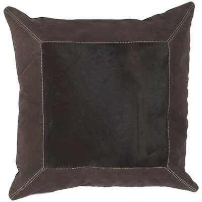 Calgary Bold Hide Throw Pillow Filler: Down