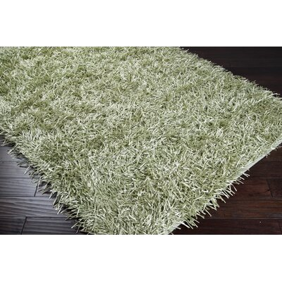 Cervantes Lime Solid Area Rug