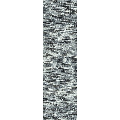 Contour Black/Gray Area Rug Rug Size: Runner 4 x 10