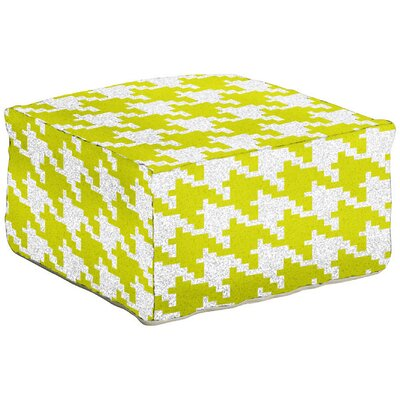 Ashley Pouf Ottoman Upholstery: Wasabi