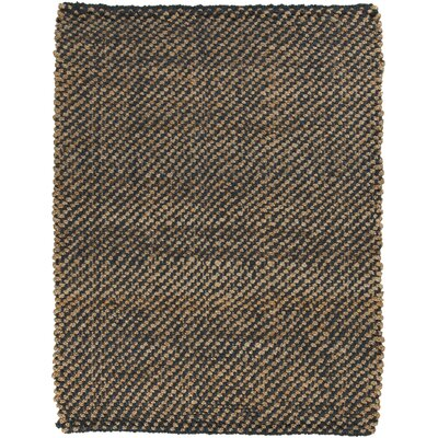 Bradford Hand-Woven Brown Area Rug Rug Size: Rectangle 2 x 3
