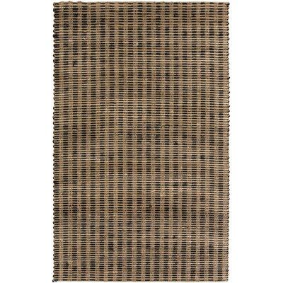 Jaidan Tan/Black Olive Rug Rug Size: Rectangle 10 x 14
