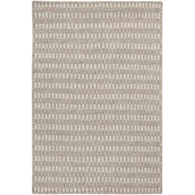 Cedar Feather Gray/Cobble Stone Striped Rug Rug Size: 2 x 3