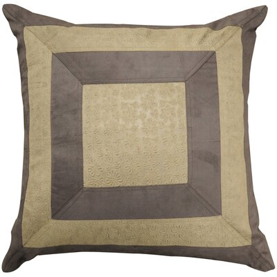 Driden Square Throw Pillow Fill Material: Down
