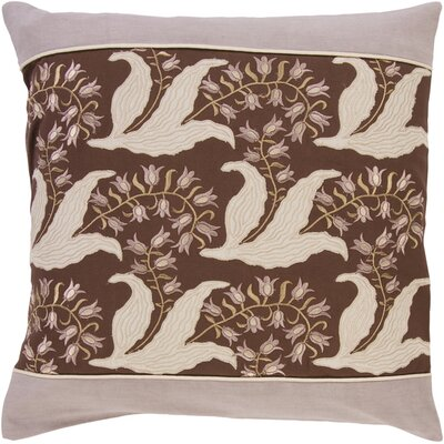 McCarthy Elegant Floral Pillow Filler: Down