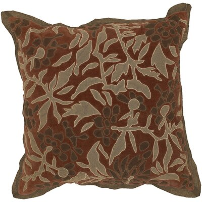 Fresh Foliage Throw Pillow Fill Material: Down