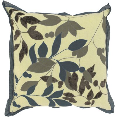 Sibley Leaves Throw Pillow Fill Material: Down