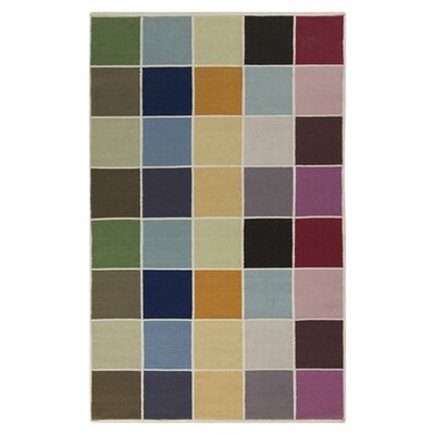 Carl Handmade Blue/Beige Area Rug Rug Size: Rectangle 2 x 3