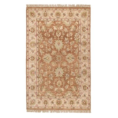 Carrickfergus Beige Area Rug Rug Size: Rectangle 2' x 3'