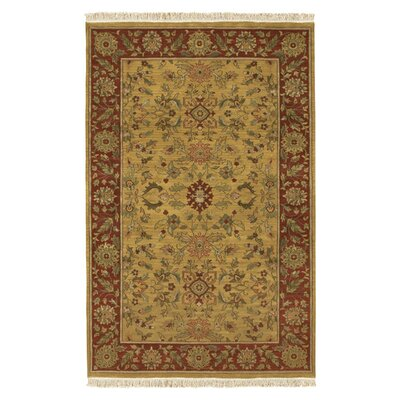 Atwater Gold Area Rug Rug Size: Rectangle 39 x 59