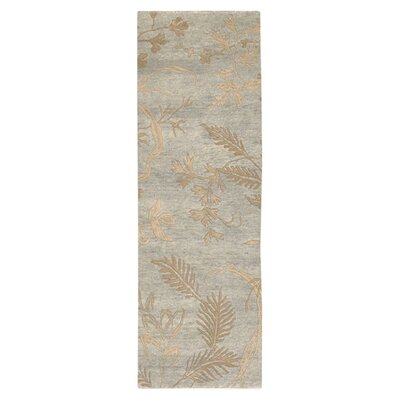 Howland Green Floral Area Rug Rug Size: Runner 26 x 10