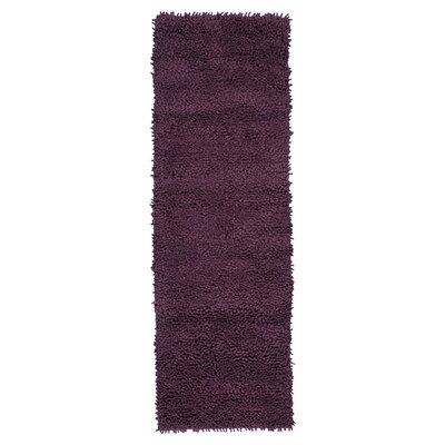 Bonney Purple Area Rug Rug Size: Runner 4 x 10