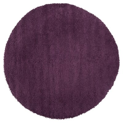 Bonney Purple Area Rug Rug Size: Round 10
