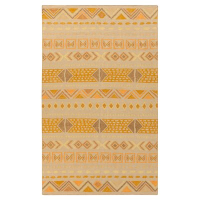 Avis Pussywillow Bright Orange Area Rug Rug Size: Rectangle 5 x 8