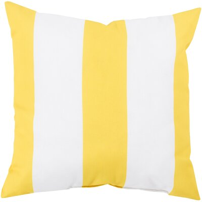 """Surya Awning Stripe Outdoor Pillow - Color: Light Gray/Ivory, Size: 20"""" H x 20"""" W x 5"""" D at Sears.com"""