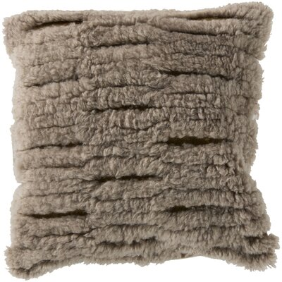 Hensley Cut Out Wool Throw Pillow Filler: Polyester
