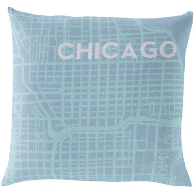 Dunstable Cotton Throw Pillow Size: 22 H x 22 W, Filler: Polyester