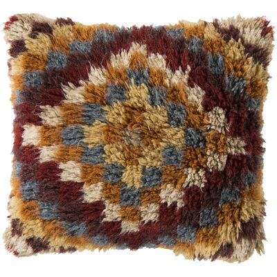 Andreas of Diamond Wool Throw Pillow Filler: Polyester