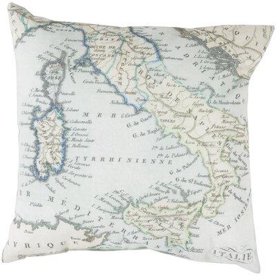 Winstead Globe Outdoor Throw Pillow Size: 20 H x 20 W x 4 D