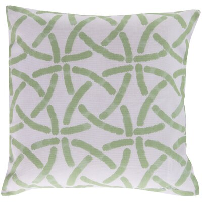 Burns Circles Throw Pillow Size: 20