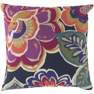 Kaneville Flower Outdoor Throw Pillow Size: 20 H x 20 W x 4 D