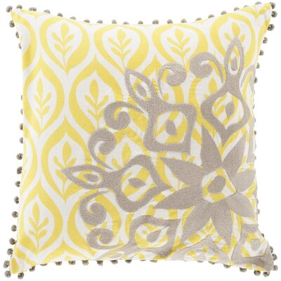 Anny Cotton Throw Pillow Fill Material: Down