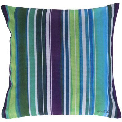 Lexia Stripe Throw Pillow Size: 18