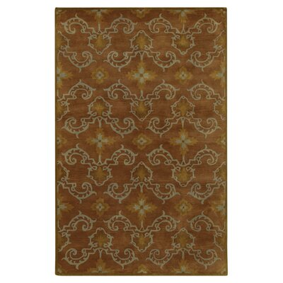 Busch Brown Rug Rug Size: Rectangle 9 x 13