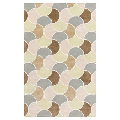Brickyard Geometric Area Rug Rug Size: Rectangle 2 x 3