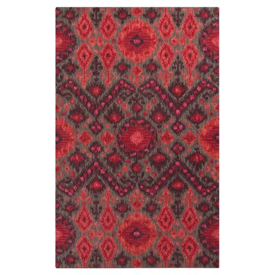 Mooney Magenta Rug Rug Size: 33 x 53