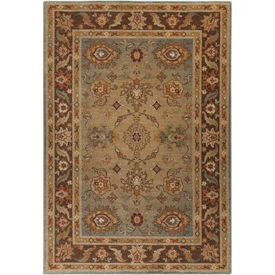 Basilia Tan Area Rug Rug Size: Rectangle 53 x 73