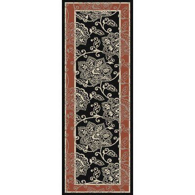 Pearce Taupe Indoor/Outdoor Area Rug Rug Size: Runner 23 x 119