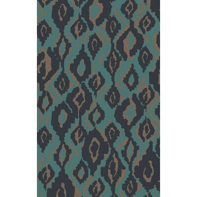 Mann Hand Woven Wool Blue Area Rug Rug Size: Rectangle 2 x 3