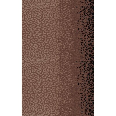 Marissa Hand-Tufted Mocha Area Rug Rug Size: Rectangle 5 x 8