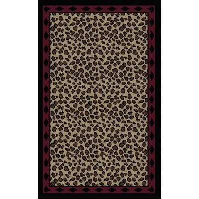 Mario Hand-Tufted Beige/Brown Area Rug Rug Size: 2 x 3