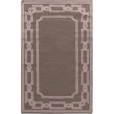 Clancy Taupe Geometric Area Rug Rug Size: Rectangle 5 x 8