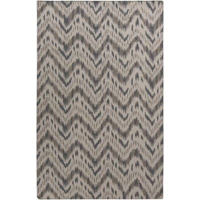 Crisler Gray Chevron Area Rug Rug Size: Rectangle 5 x 8