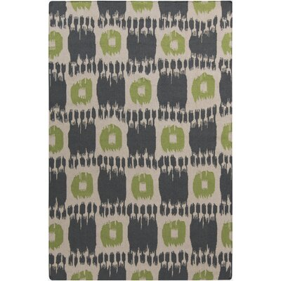 Crisler Grey Area Rug Rug Size: Rectangle 36 x 56
