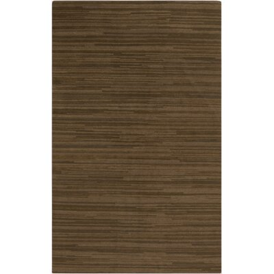 Alica Mocha Stripe Area Rug Rug Size: Rectangle 8 x 11