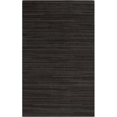 Alica Grey Stripe Rug Rug Size: 33 x 53