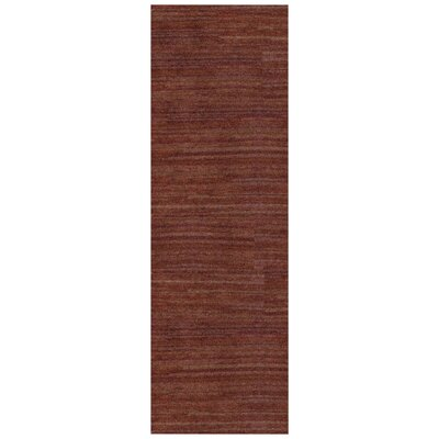 Alica Rust Area Rug Rug Size: Runner 26 x 8