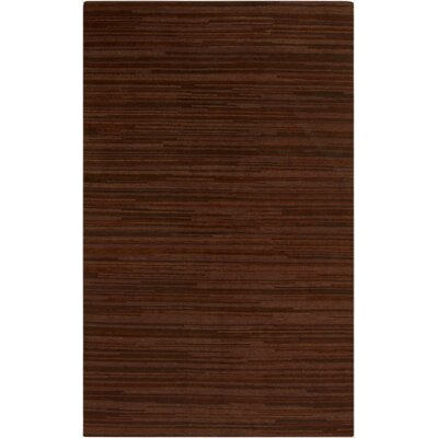 Alica Rust Area Rug Rug Size: 5 x 8